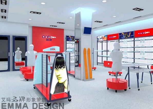 专卖店设计/货架设计/陈列展示设计