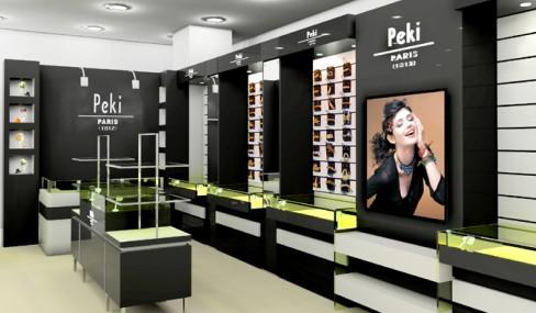 深圳眼镜展示柜/眼镜柜台制作眼镜专卖店设计装修/眼镜柜制作