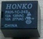 航科继电器(HONKO)PAH-1C-24S(T73)