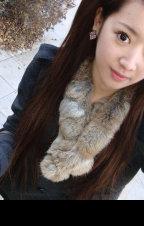 兔皮围巾2