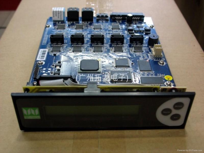 批发;慧全DVDV11拷贝机控制器(1拖11)SATA使用