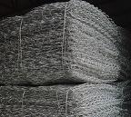 河北安平现货供应重型六角网 拧花网 格宾网 三绞节机编网