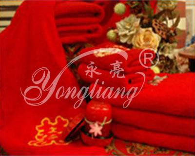 上海永亮出售优质喜字毛巾