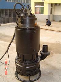 耐磨潜水抽铁砂泵、抽矿砂泵、抽尾砂泵