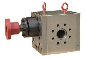 高温木塑生产线专用熔体泵 熔体齿轮泵