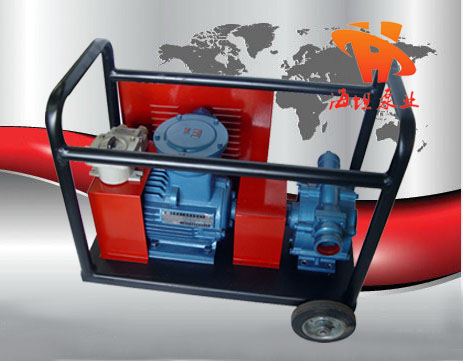 自吸滑板泵,自吸油泵,移动式滑板泵