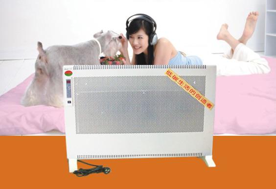 节能电暖器选美缔