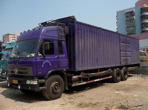 求购深圳至海口物流运输