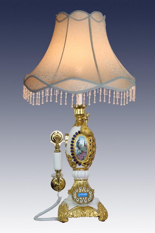 批发仿古电话古典欧式电话机艾迪斯台灯电话