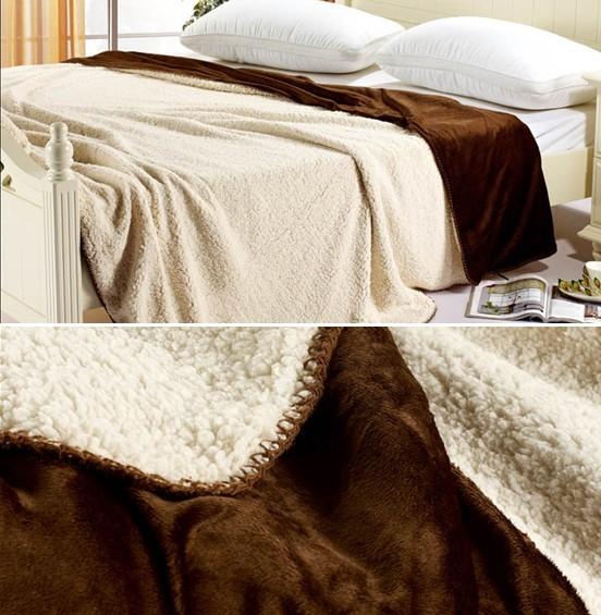 加厚双层 毛毯 羊羔绒毛毯毯 毯子 盖毯 秋冬必备