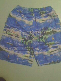 供应桃皮绒沙滩裤