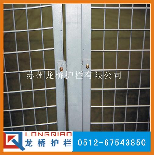 车间产品隔离栏杆,金属隔离网,仓库围栏,厂家直销