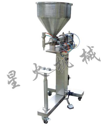 八宝粥灌装机/自动膏体灌装生产线