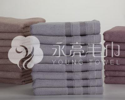 永亮热销竹纤维系列---生态竹纺面巾