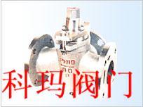 X44T三通铜芯旋塞阀