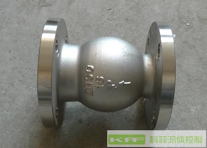 H42W不锈钢立式止回阀/不锈钢阀门