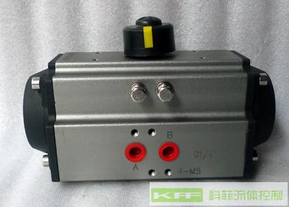 AT型双作用角行程阀门气动执行器/气动头