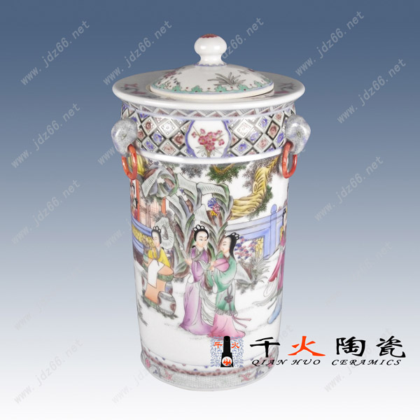 供应粉彩瓷景德镇粉彩瓷订做精品名家粉彩瓷