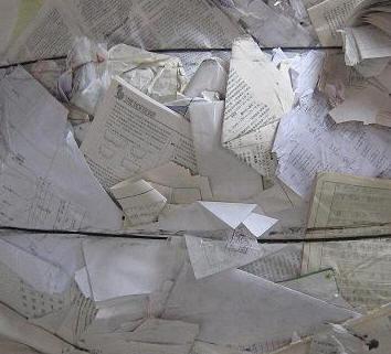上海书纸办公废纸回收