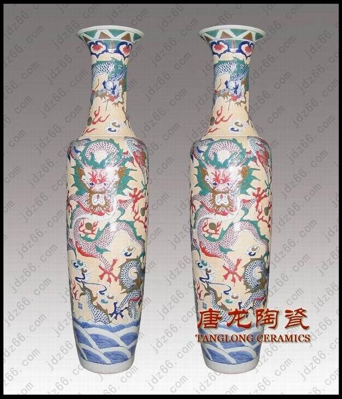 厂家供应陶瓷大花瓶,春节礼品大花瓶,装饰品大花瓶,大花瓶订做