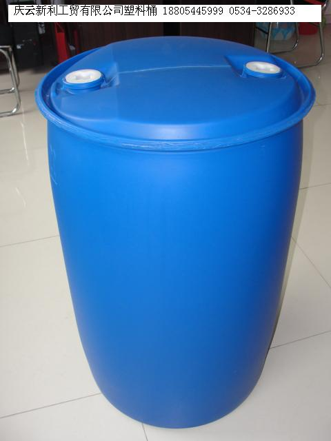 供应60l160l200l开口塑料桶