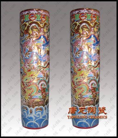 厂家批发供应陶瓷大花瓶景德镇陶瓷大花瓶装饰品大花瓶