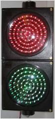 81粒红 绿 超高亮度LED红绿灯 高空放置