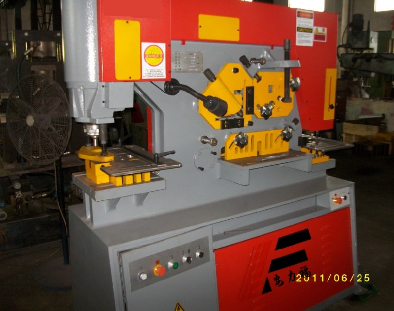 供应山东冲剪机价格,Q35Y-20液压联合冲剪机