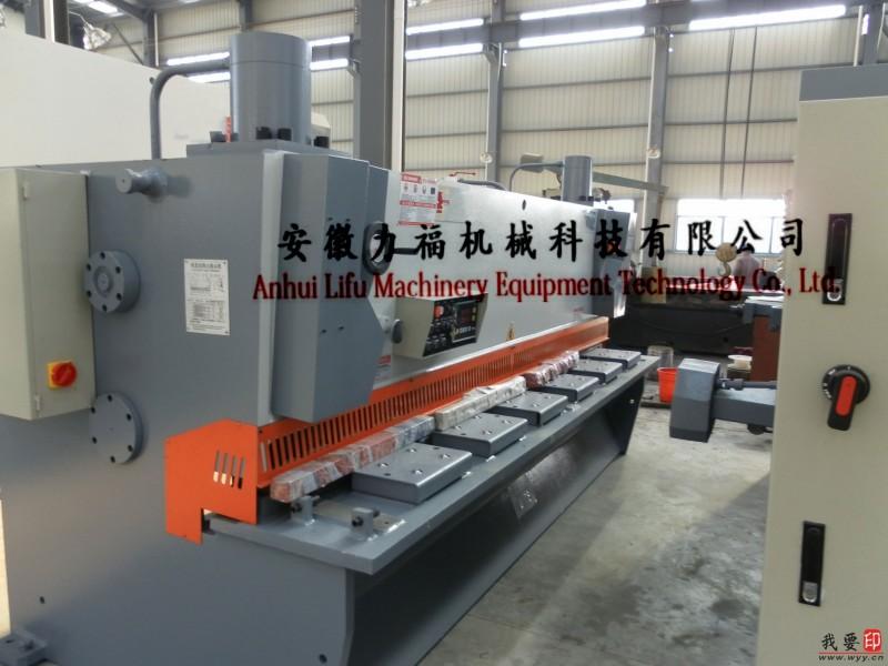供应QC11Y-10/2500液压闸式数控剪板机
