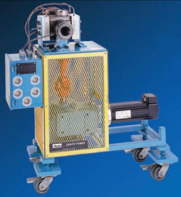 PEP-II 熔体计量泵系统熔体齿轮泵 无脉冲熔体泵
