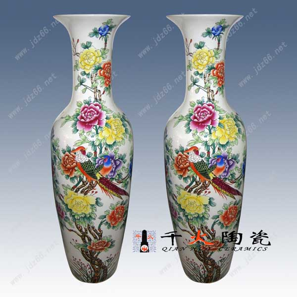 陶瓷大花瓶商务礼品陶瓷大花瓶家居摆设陶瓷大花瓶