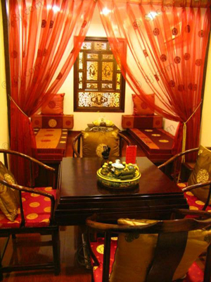 专业定制中式欧式休闲茶楼桌椅家具沙发茶几