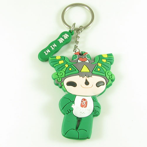 厂家生产PVC软胶钥匙扣,时尚、精美、个性、创意、环保