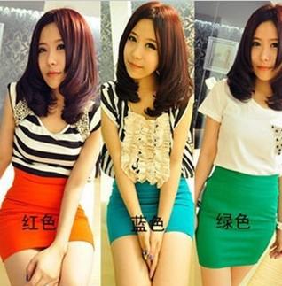 色短裙 迷你裙 彩色短裙62123020半身裙0.1