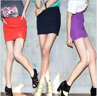 新 韩版学院风格子呢子裙包臀裙短裙半身裙混批