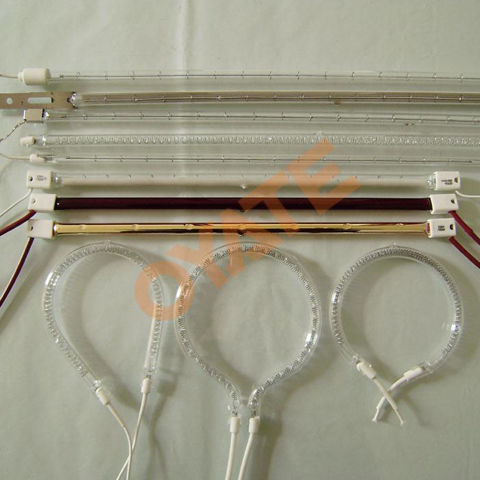 吹塑机用透明红外线电加热灯管