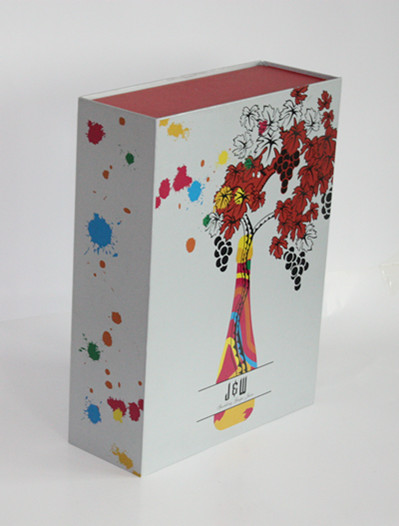 深圳酒标酒盒印刷厂家柏年包装单支礼盒