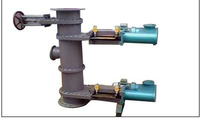 电液动插板式双层卸料阀