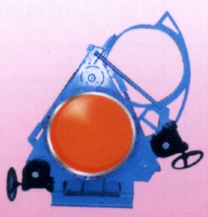 蜗轮传动扇形盲板阀