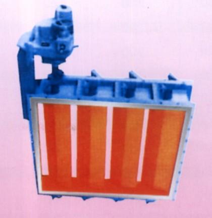 电传动矩形百叶通风调节阀