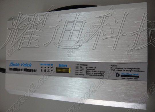 60V25A智能蓄电池充电器,60V25A观光车叉车充电机
