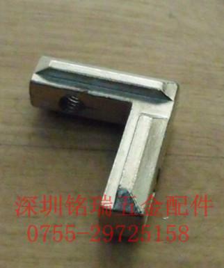 工业铝型材配件角槽连接件,直角连接件,90底对角块