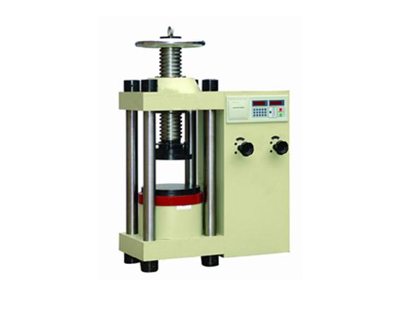 数显式液压压力试验机
