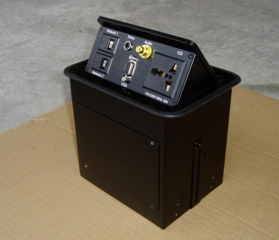 VLM桌面弹起式接口盒