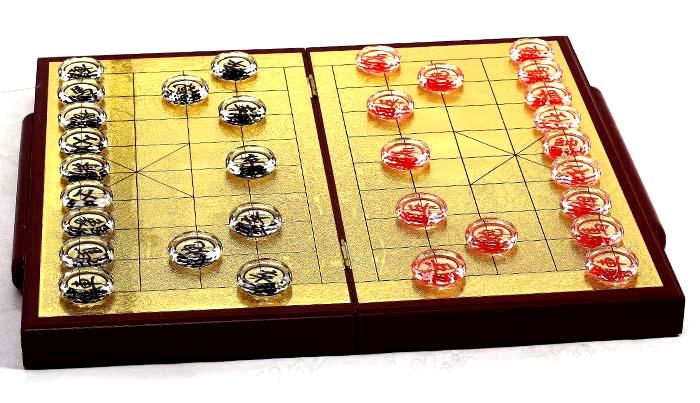 广州哪里有水晶中国象棋,精汇水晶中国象棋厂家批发