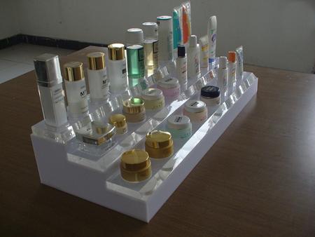 亚克力化妆品展架,亚克力制品
