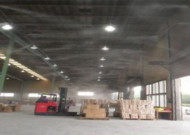 供应货运物流快递公司/仓库中转场专用喷雾降温系统