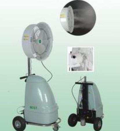 供应4S店户外大排档高温车间专用喷雾降温风扇