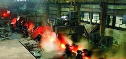 供应炼钢厂铸造业喷雾降温加湿预冷却喷雾设备