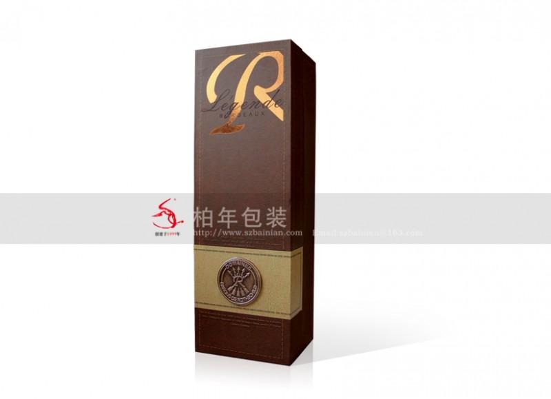 红酒包装酒盒设计